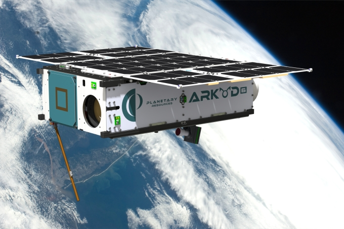 Arkyd 6, launching later this year. Image Credit: Planetary Resources, Inc.