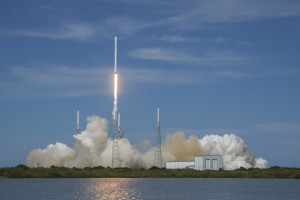 CRS-6 launch to the ISS with A3R on board. Image Credit: SpaceX