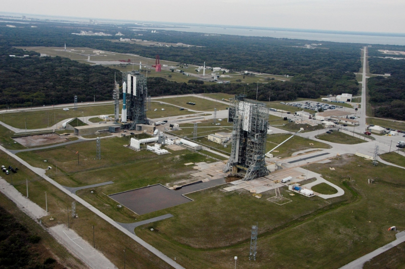 Space Launch Complex 17 at Cape Canaveral [2007]. Image Credit: PRNewsFoto/Moon Express, Inc.